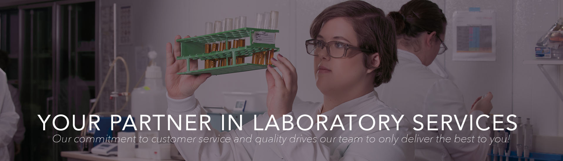 Laboratory Partner Header